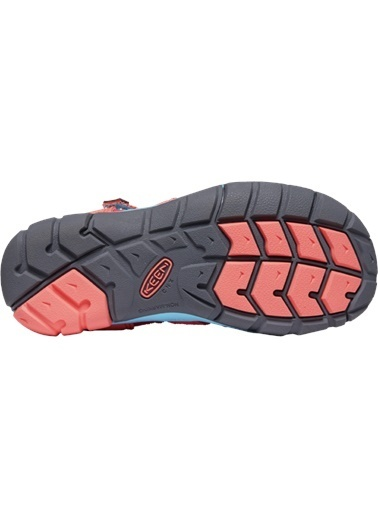 Keen Keen Seacamp II CNX Genç Sandalet Kırmızı Somon